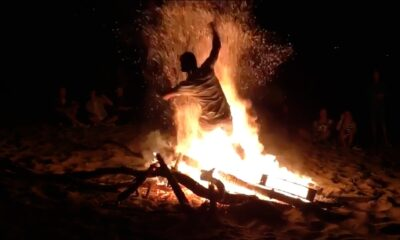 ateş yakma