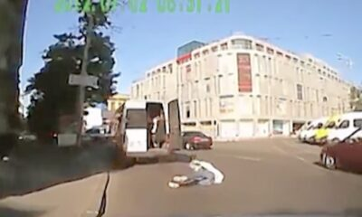 IDO 0008 Student fall down from School bus