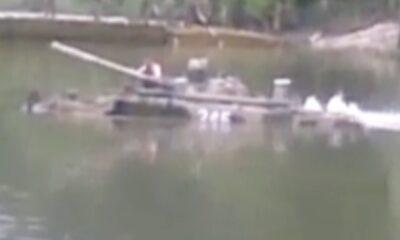 MIL 0006 Tank testing lake