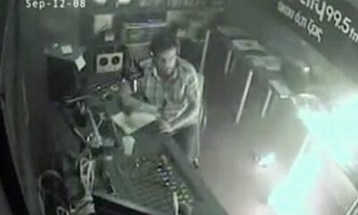 PEO 0009 DJ likes his job so much