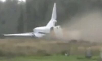 PLN 0002 Military Jet fails during the take off