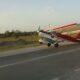 PLN 0003 Airplane car crash