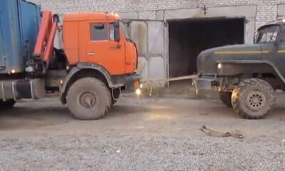 TRP 0007 Trucks war in Garage