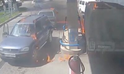 YNG 0020 Fire at gas station jpg