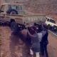 SLK 0019 Rescuing pick up truck
