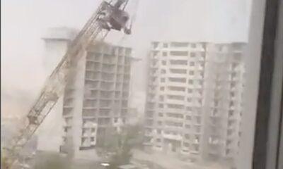 take down crane