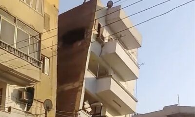 YKL 0013 Apartment building collapses