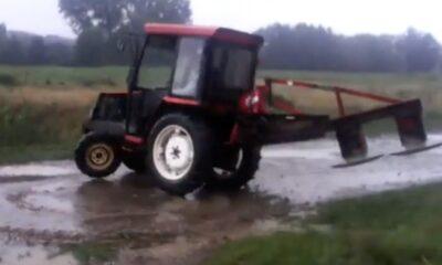 FAL 0071 Do not drift tractor