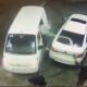 Fast-thinking drivers spray gasoline on car thieves after a burglary