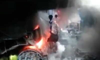 PAT 0008 explosion in foundry
