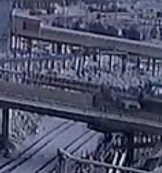 köprüden düştü suv